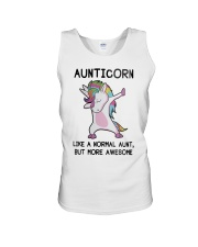 Aunticorn Like A Normal Aunt But More Awesome Unisex Tank thumbnail