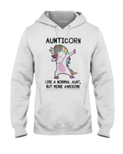 Aunticorn Like A Normal Aunt But More Awesome Hooded Sweatshirt thumbnail