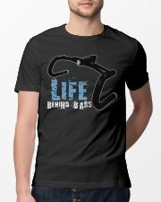 Life behind bars cycling Classic T-Shirt lifestyle-mens-crewneck-front-13