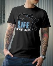 Life behind bars cycling Classic T-Shirt lifestyle-mens-crewneck-front-6
