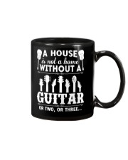 A house is not a home without guitars Mug thumbnail
