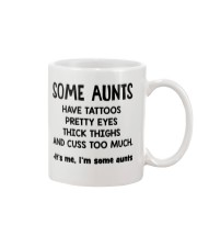 I'm Some Aunt Have Tattoos Pretty Eyes Thick Thigh Mug thumbnail