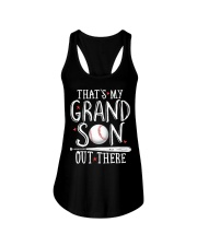 THAT'S MY GRANDSON OUT THERE Ladies Flowy Tank thumbnail