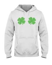 Irish Shamrock Boobs St Patricks Day Hooded Sweatshirt thumbnail