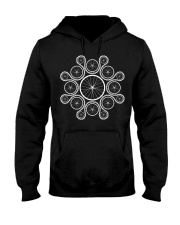 Cycling wheels and chain Hooded Sweatshirt thumbnail