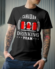 Canadiann Drinking Team Classic T-Shirt lifestyle-mens-crewneck-front-6