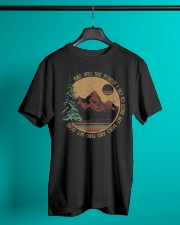 Into The Forest I Go Funny Hiking Camping Classic T-Shirt lifestyle-mens-crewneck-front-3