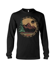 Into The Forest I Go Funny Hiking Camping Long Sleeve Tee thumbnail