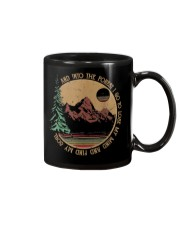 Into The Forest I Go Funny Hiking Camping Mug thumbnail