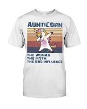 Aunticorn Vintage Shirt Classic T-Shirt front
