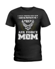 Air Force Mom Ladies T-Shirt thumbnail