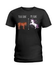 Your Aunt MY Aunt Gift For Your Nephew and Niece Ladies T-Shirt thumbnail