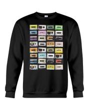 Cassette tapes mixtapes 1980s Crewneck Sweatshirt thumbnail