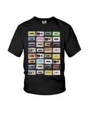 Cassette tapes mixtapes 1980s Youth T-Shirt thumbnail