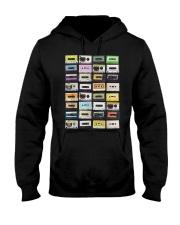 Cassette tapes mixtapes 1980s Hooded Sweatshirt thumbnail