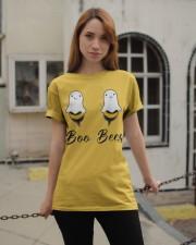 Boo Bees Funny Halloween Shirt Classic T-Shirt apparel-classic-tshirt-lifestyle-19