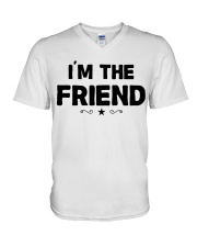 IM THE FRIEND V-Neck T-Shirt thumbnail