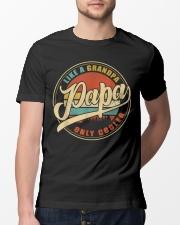 Vintage Papa Shirt Classic T-Shirt lifestyle-mens-crewneck-front-13