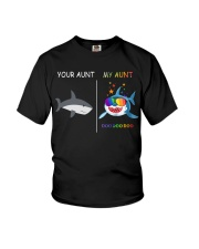 Your Aunt - My Auntie Shark Youth T-Shirt front
