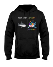 Your Aunt - My Auntie Shark Hooded Sweatshirt thumbnail