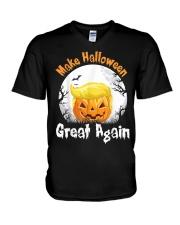 Perfect Halloween Shirt V-Neck T-Shirt thumbnail