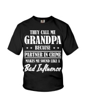 THEY CALL ME GRANDPA Youth T-Shirt thumbnail