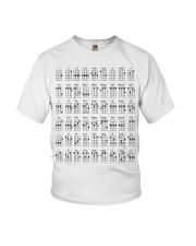 Ukulele chords mug and shirt Youth T-Shirt thumbnail
