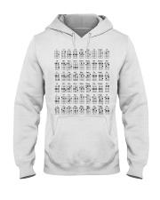 Ukulele chords mug and shirt Hooded Sweatshirt thumbnail