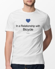 In A Relationship With Bicycle Classic T-Shirt lifestyle-mens-crewneck-front-13