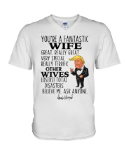 Best Gift For Wife V-Neck T-Shirt thumbnail