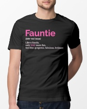 Fauntie Funny Definition Classic T-Shirt lifestyle-mens-crewneck-front-13