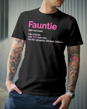 Fauntie Funny Definition Classic T-Shirt lifestyle-mens-crewneck-front-6