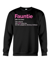 Fauntie Funny Definition Crewneck Sweatshirt thumbnail