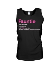 Fauntie Funny Definition Unisex Tank thumbnail