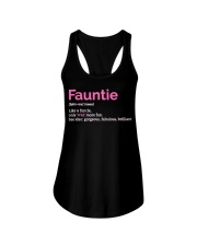 Fauntie Funny Definition Ladies Flowy Tank thumbnail