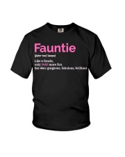 Fauntie Funny Definition Youth T-Shirt thumbnail