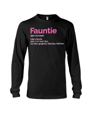Fauntie Funny Definition Long Sleeve Tee thumbnail