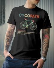 Cycopath vintage design Classic T-Shirt lifestyle-mens-crewneck-front-6
