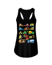 Construction Excavator Shirt For Kids Ladies Flowy Tank thumbnail