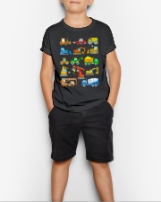 Construction Excavator Shirt For Kids Youth T-Shirt lifestyle-youth-tshirt-front-1