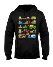 Construction Excavator Shirt For Kids Hooded Sweatshirt thumbnail