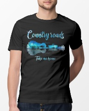Country roads take me home Classic T-Shirt lifestyle-mens-crewneck-front-13