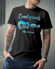Country roads take me home Classic T-Shirt lifestyle-mens-crewneck-front-6