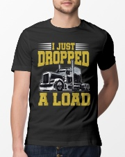 I Just Dropped A Load Funny Trucker Classic T-Shirt lifestyle-mens-crewneck-front-13