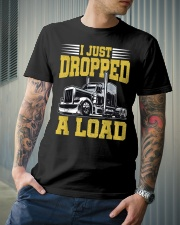 I Just Dropped A Load Funny Trucker Classic T-Shirt lifestyle-mens-crewneck-front-6