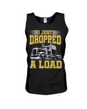 I Just Dropped A Load Funny Trucker Unisex Tank thumbnail