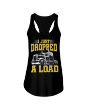 I Just Dropped A Load Funny Trucker Ladies Flowy Tank thumbnail