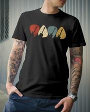 Guitar Picks Retro Vintage Style Classic T-Shirt lifestyle-mens-crewneck-front-6
