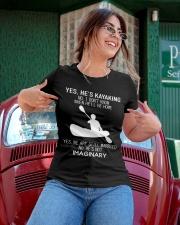 Yes He's Kayaking Ladies T-Shirt apparel-ladies-t-shirt-lifestyle-01