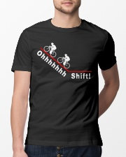 Ohhhhhhh Shift funny cycling design Classic T-Shirt lifestyle-mens-crewneck-front-13